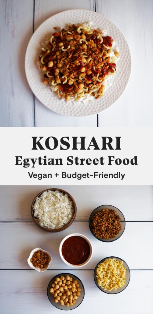 Koshari (Egyptian Street Food)
