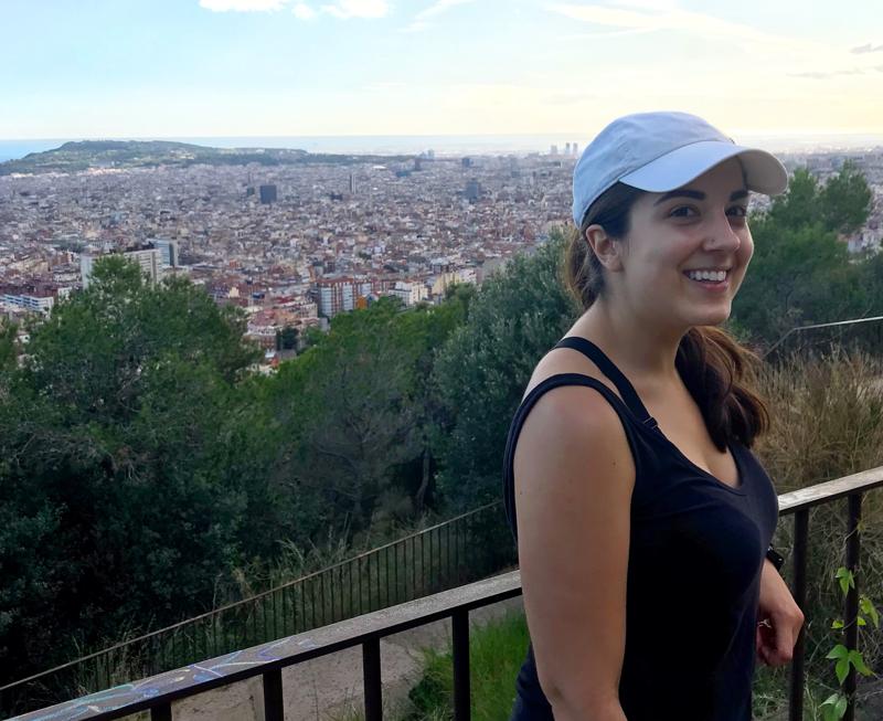 Daughter of Seitan in Barcelona Spain