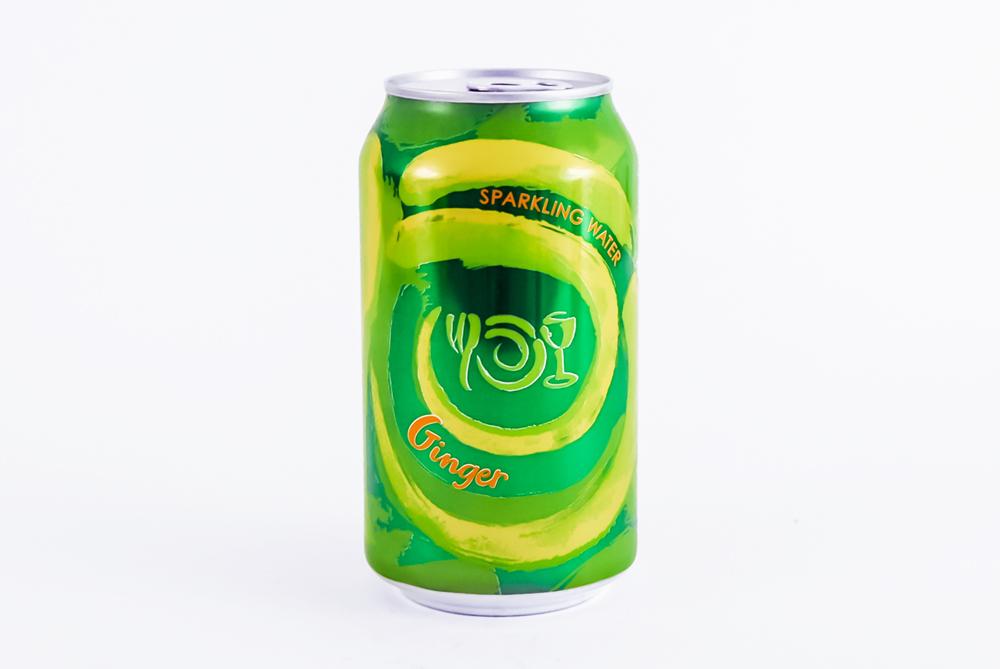 Can of Wegmans Sparkling Water flavor Ginger