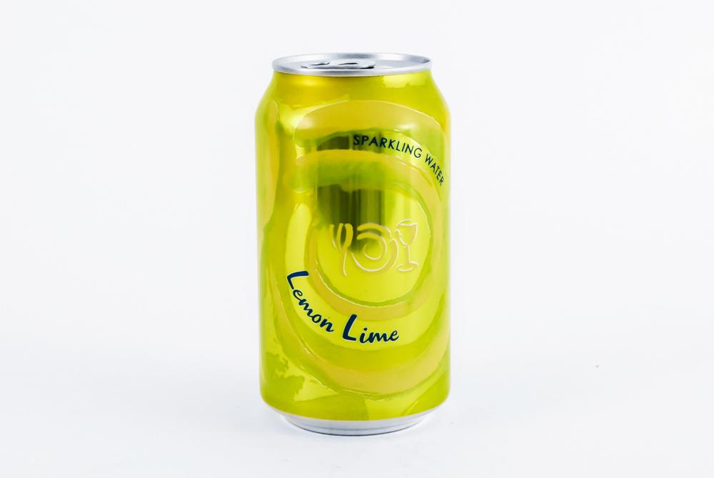 Can of Wegmans Sparkling Water flavor Lemon Lime