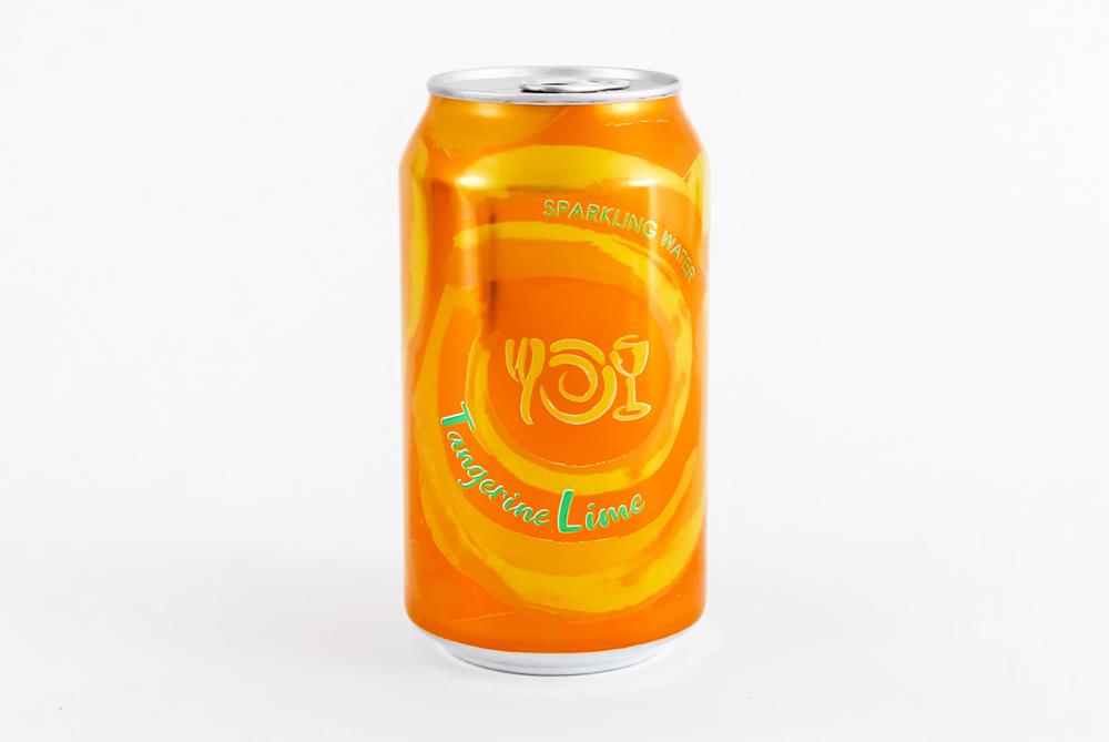Can of Wegmans Sparkling Water flavor Tangerine Lime