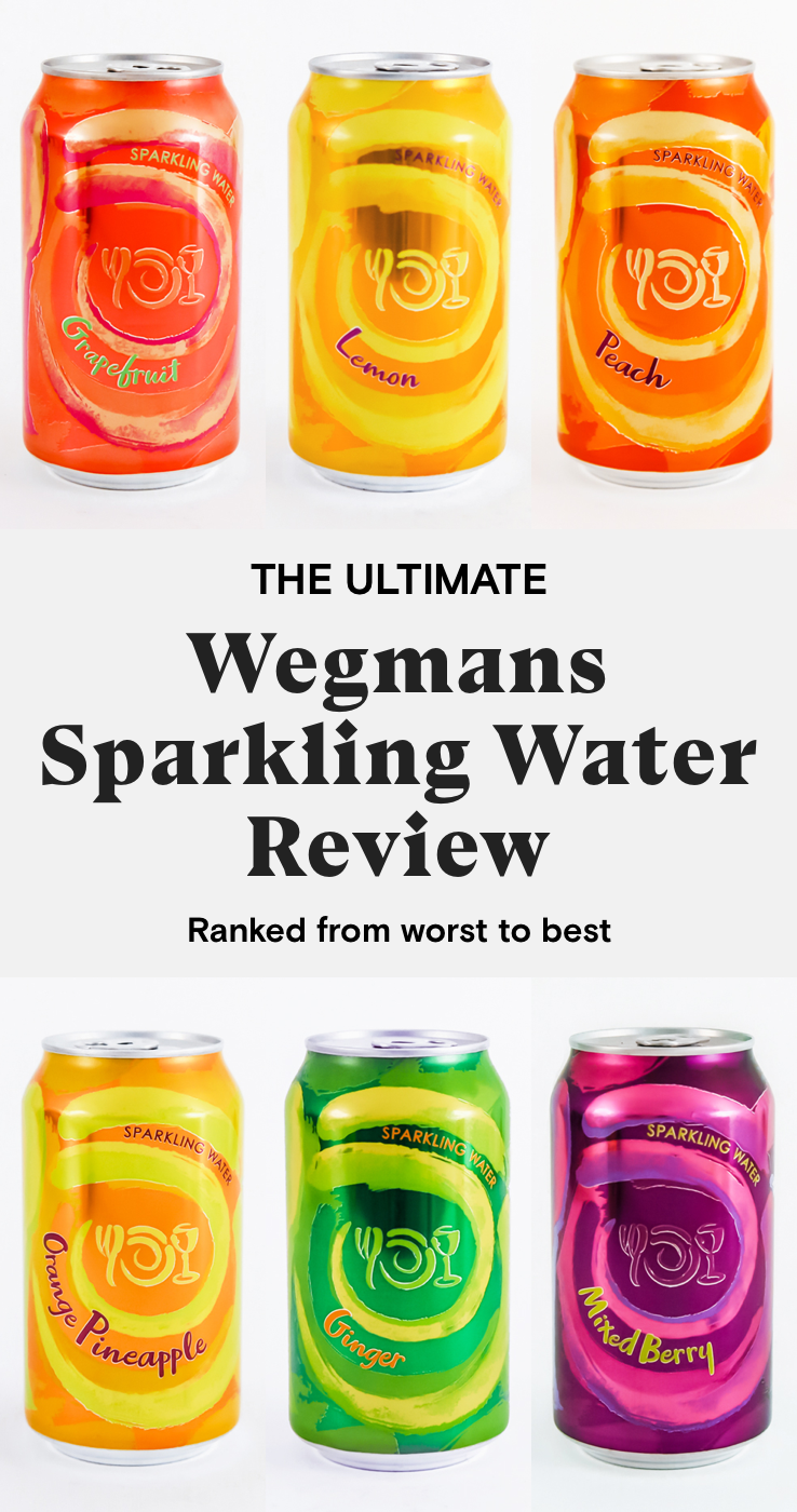The ultimate Wegmans Sparkling Water review.