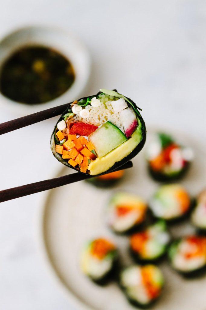 Raw Vegan Sushi Rolls from Simple Veganista