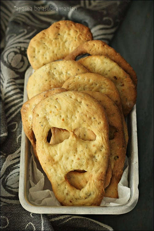 Herbed Ghost Breads for Halloween by My Diverse Kitchen