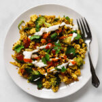 The best tofu scramble with vegetables